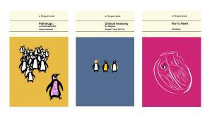 Conceptual penguin book covers