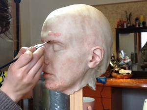 3D sculpture of ache types by Merlin Strangeway