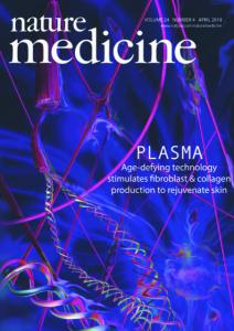 Nature medicine front cover for conceptual coursework by Julia Ruston